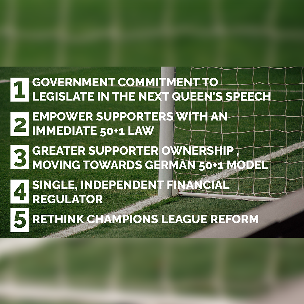 Andy And Steve Rotheram Unveil Five Point Plan To 'Reclaim Our Game'